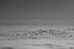 Moln i skyen Arkivfoto