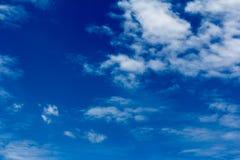Moln med himmel Royaltyfri Fotografi