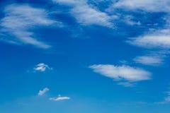 Moln med himmel Royaltyfria Bilder
