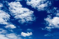 Moln med himmel Royaltyfri Foto