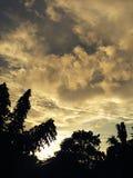 Moln och himlar Arkivbild