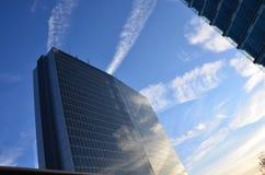 Moln och himlar i Luxembourg Royaltyfri Bild