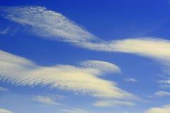 Moln och himmel Arkivbild