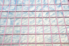 Moln och himmel Fotografering för Bildbyråer