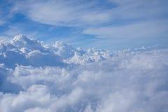 Moln- och himmelsikt Royaltyfri Fotografi