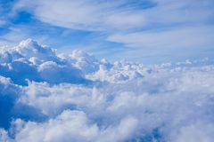 Moln- och himmelsikt Royaltyfri Foto