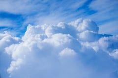 Moln- och himmelsikt Royaltyfria Foton