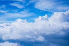 Moln- och himmelsikt Arkivbilder