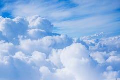Moln- och himmelsikt Fotografering för Bildbyråer
