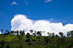 Moln och sky Arkivbild