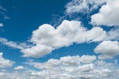 Moln och sky royaltyfri fotografi