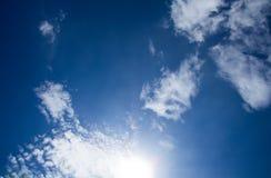 Moln och sky Fotografering för Bildbyråer