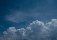 Moln och sky Royaltyfri Foto