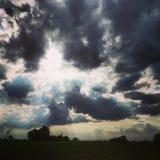 molnig dag Royaltyfri Bild