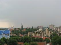 Molnig dag i Smederevo Fotografering för Bildbyråer
