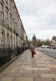 Molnig eftermiddag i Edinburg Fotografering för Bildbyråer