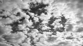 Molnig himmel Arkivbilder
