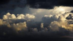 Molnig himmel Royaltyfri Bild