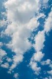 Molnig himmel Royaltyfri Fotografi