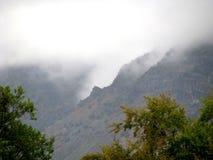 Molnig kanjon Royaltyfri Foto