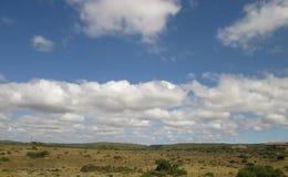 molnig liggande Arkivbilder