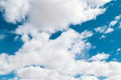 molnig sky Royaltyfri Fotografi