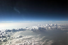 molnig sky 4 Royaltyfri Foto