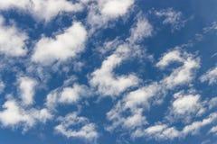 molnig sky Royaltyfria Foton