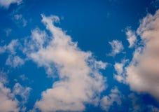 molnig sky 2 Royaltyfri Foto