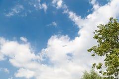 molnig skysikt Royaltyfria Foton