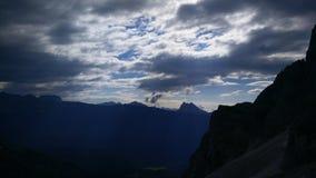 Molniga berg Royaltyfri Fotografi