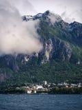 Molniga berg Royaltyfri Bild