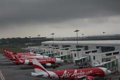 Molniga flygplatser Fotografering för Bildbyråer