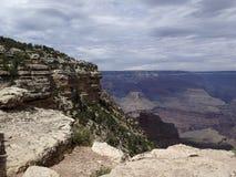Molniga Grand Canyon Royaltyfri Foto