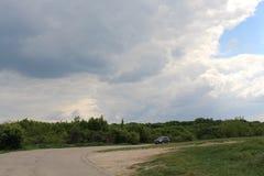 molnigt Fotografering för Bildbyråer