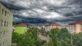 molnigt Arkivbild