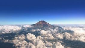 Molnigt berg Arkivbilder