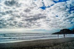 molnigt hav arkivbilder
