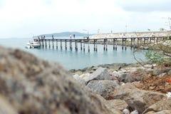 Molo alla Tailandia Fotografia Stock Libera da Diritti