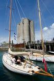 Molo Auckland Nuova Zelanda di Wynyard Fotografia Stock