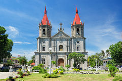 Molo Church in Iloilo City. Panay Island, Philippines Stock Image