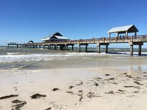Molo 60, Clearwater, Floryda zdjęcia stock
