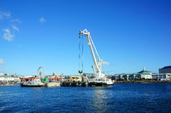 Molo del Sudafrica Cape Town Immagine Stock Libera da Diritti