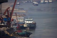Molo del trasporto Fotografia Stock