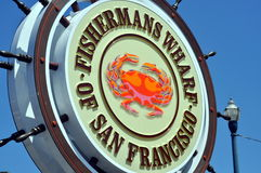 Molo di Fishermans di San Francisco Fotografia Stock