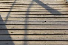 Molo di legno della barca di Prestige del futuro Fotografia Stock Libera da Diritti