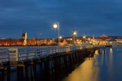 Molo en Sopot Foto de archivo libre de regalías