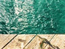 Molo i morze Fotografia Stock