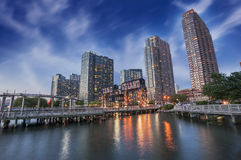 Molo Long Island, Miasto Nowy Jork Obraz Royalty Free