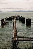 Molo na Jeziorze Zdjęcie Royalty Free
